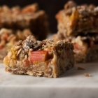 Rhubarb Orange Crisp Bars