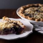 Blueberry Nectarine Crème Fraîche Pie
